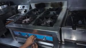 Kitchen equipment maintainence