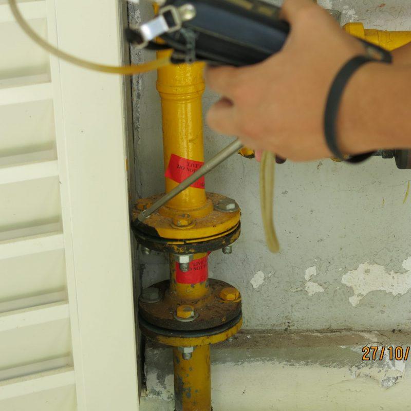 Gas leak inspection